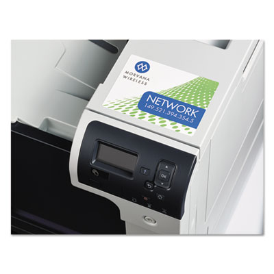 Avery® Removable Rectangle Durable Labels with TrueBlock® Technology