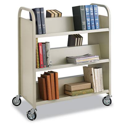 Safco® Steel Book Cart