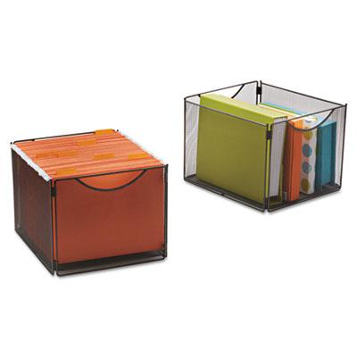 Safco® Onyx™ Mesh Cube Bins