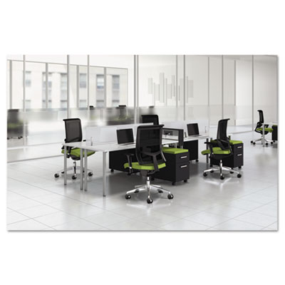 Mayline® e5 Series Four-Person Workstation