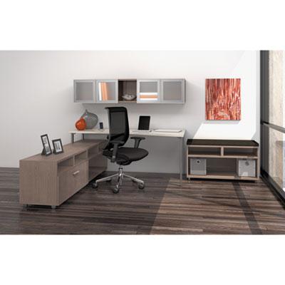 Mayline® e5 Series Single L-Workstation