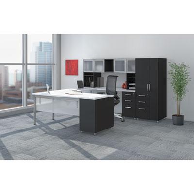 Mayline® e5 Series Executive U-Workstation