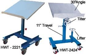 MOBILE TILTING POSITIONING WORK TABLE