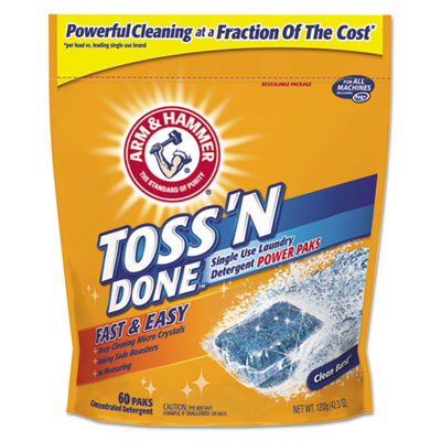 Arm & Hammer™ Toss N Done Power Paks