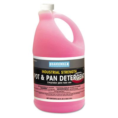 Boardwalk® Pink Pot & Pan Dish Detergent