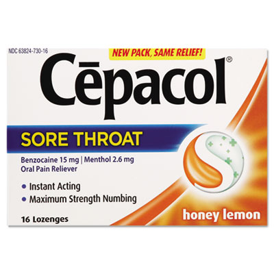 Cepacol® Extra Strength Lozenges