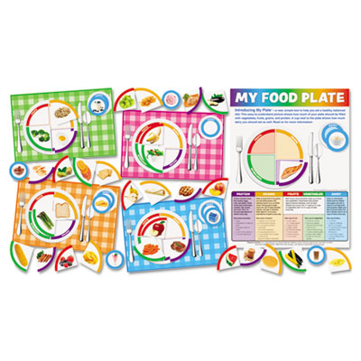 "Scholastic ""My Food Plate"" Bulletin Board Set"