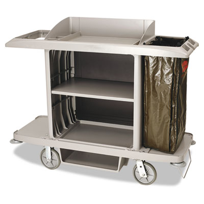 Rubbermaid® Commercial Housekeeping Cart