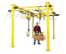 STAND-ALONE LODERAIL WORK AREA CRANES