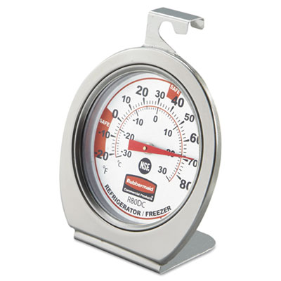 Rubbermaid® Commercial Pelouze® Refrigerator/Freezer Monitoring Thermometer