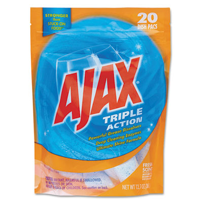 Ajax® Triple Action Automatic Dishwasher Detergent Packs