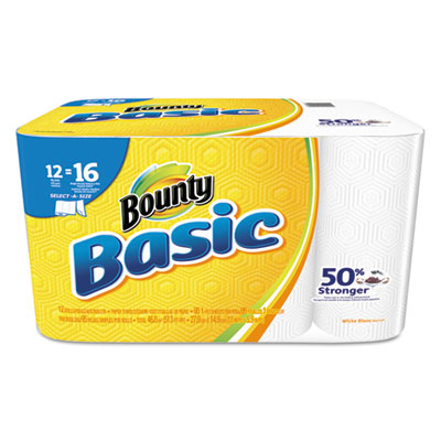 Bounty® Basic Select-a-Size Paper Towels