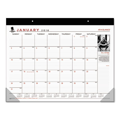 AT-A-GLANCE® Wounded Warrior Project® Desk Pad