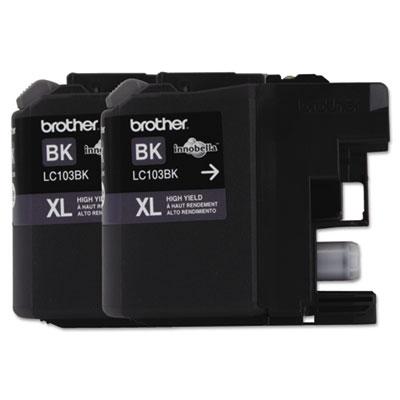 Brother® LC103BK, LC103C, LC103M, LC103Y, LC1032PKS, LC1033PKS Ink