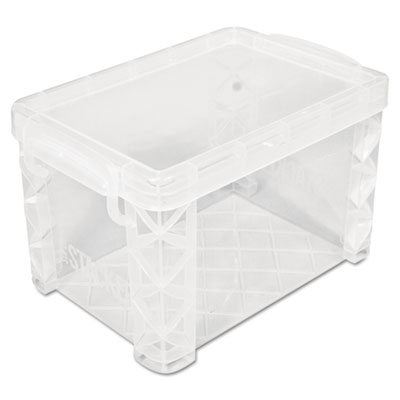 Advantus® Super Stacker® Card File Box