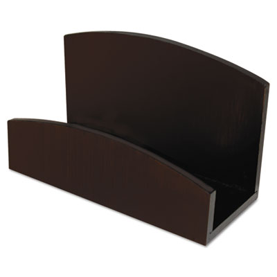 Artistic® Eco-Friendly Bamboo Curves Business Card Holder