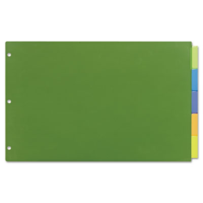 "Avery® Insertable Big Tab™ 11"" x 17"" Plastic Dividers"