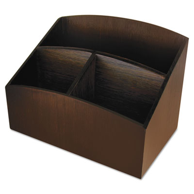 Artistic® Eco-Friendly Bamboo Curves Desk Organizer