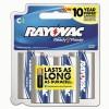 Rayovac® Alkaline Recloseable Carded Batteries
