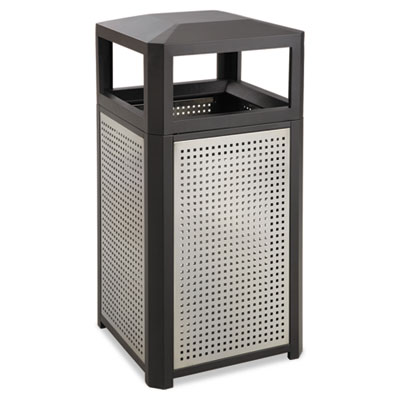 Safco® Evos™ Series Steel Waste Container