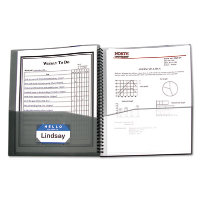 C-Line® Eight-Pocket Portfolio