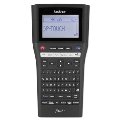 Brother® P-Touch® PT-H500LI Label Maker with Li-ion Battery and PC Connectivity
