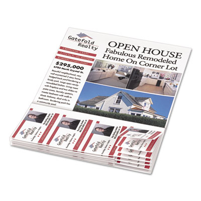 Avery® Flyers with Tear-Away Cards