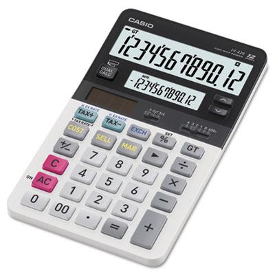 Casio® JV220 Dual Display Desktop Calculator