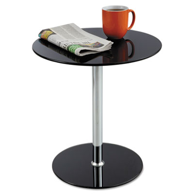 Safco® Glass Accent Table