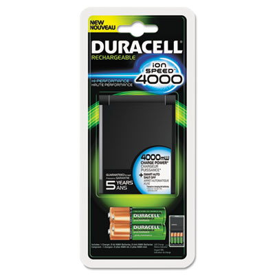 Duracell® ION SPEED™ 4000 Hi-Performance Charger
