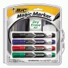 BIC® Magic Marker® Brand Low Odor AND Bold Writing Dry Erase Markers