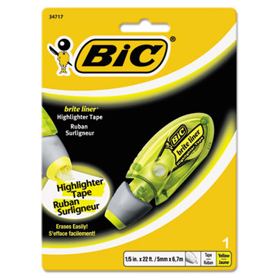 BIC® Brite Liner® Highlighter Tape