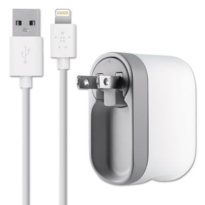 Belkin® 2.1 Amp Swivel Charger with Lightning™ Cable