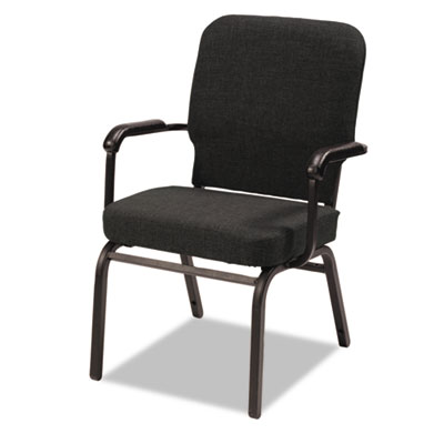 Alera® Oversize Stack Chair with Fixed Padded Arms