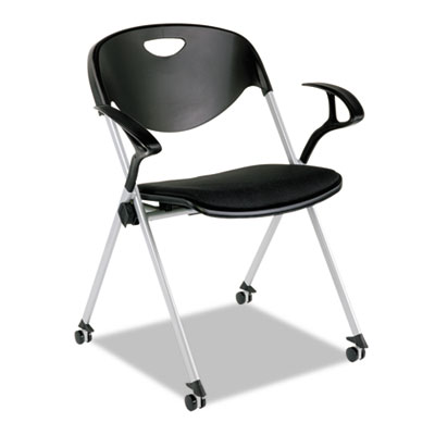 Alera Plus™ SL Series Nesting Stack Chair With Arms