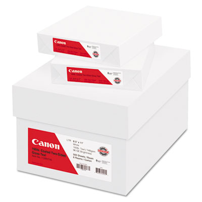 Canon® Coated Two-Sided Gloss Text Paper