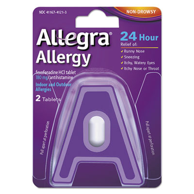 Allegra® 24 Hour Allergy Relief