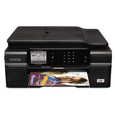 Brother® MFC-J870DW Work Smart™ Easy-to-Use Color Inkjet All-in-One