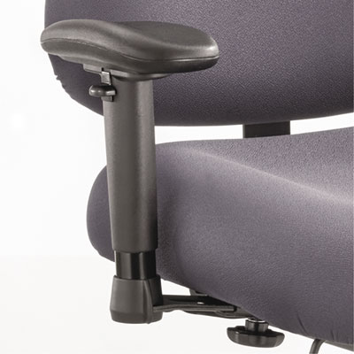 Safco® Optional Height- and Width-Adjustable T-Pad Arms for Optimus™ Big & Tall Chairs