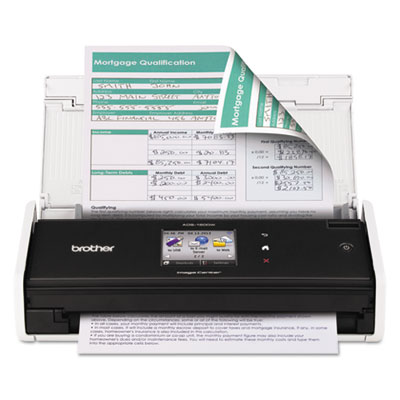 Brother® ADS1500W Wireless Compact Scanner