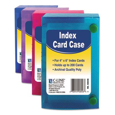 C-Line® Index Card Case