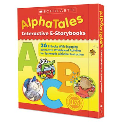Scholatic AlphaTales Interactive E-Storybooks