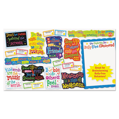 Scholastic Our Bully Free Classroom Bulletin Board Set