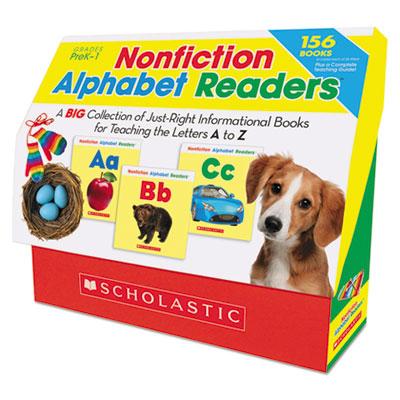 Scholastic Nonfiction Alphabet Readers