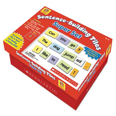 Scholastic Sentence-Building Tiles Super Set
