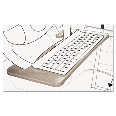 AutoExec® Wheel Desk and Tablet Mount Combo