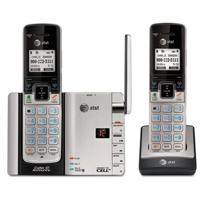 AT&T® TL92273 Handset Connect to Cell Answering System