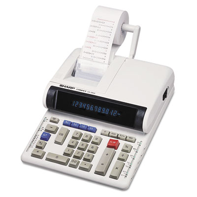 Sharp® CS-2850A Two-Color Printing Calculator