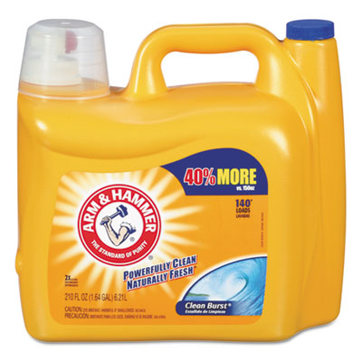Arm & Hammer™ Dual HE Clean-Burst Liquid Laundry Detergent