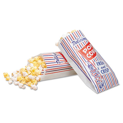 Bagcraft Papercon® Pinch-Bottom Paper Popcorn Bag